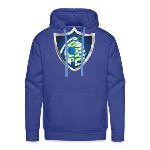 logo_grenade_vert - Sweat-shirt à capuche Premium pour hommes