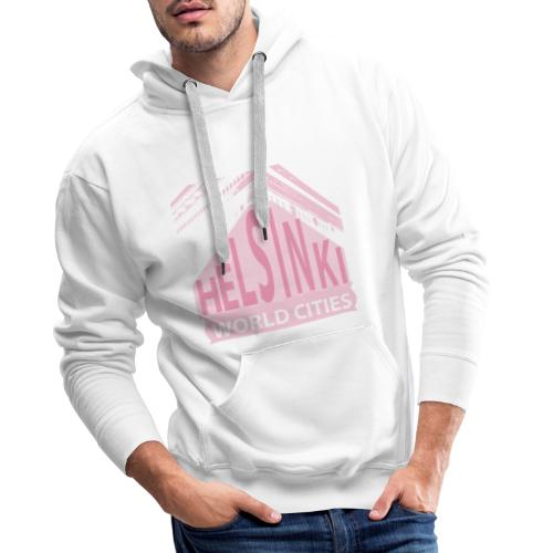 Helsinki light pink - Men's Premium Hoodie