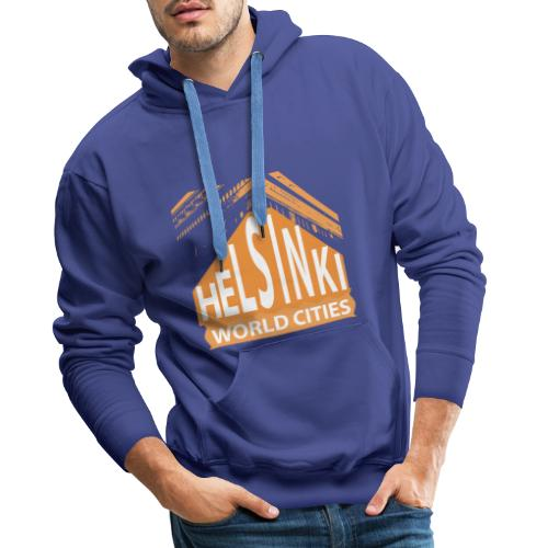 Helsinki2 orange - Men's Premium Hoodie