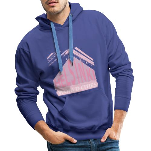 Helsinki light pink - Men's Premium Hoodie