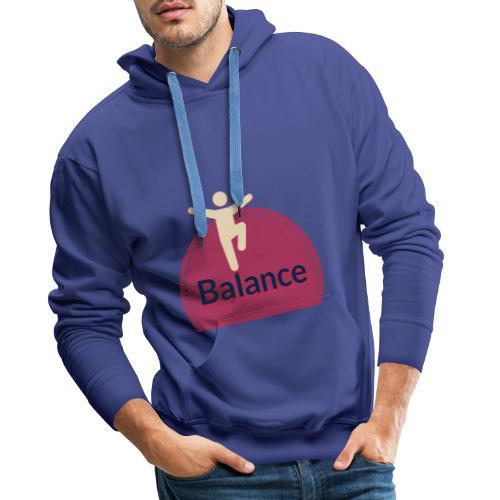 Balance red - Men's Premium Hoodie