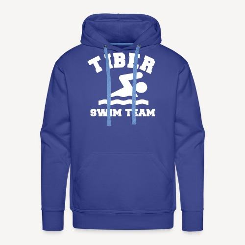 TIBER SWIM TEAM - Men's Premium Hoodie