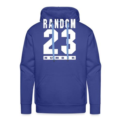 Random number 23 - Mannen Premium hoodie