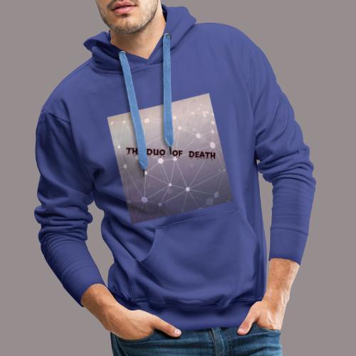 The duo of death logo - Mannen Premium hoodie