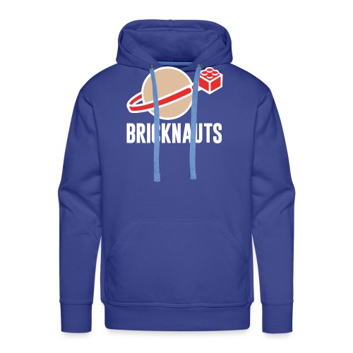 Bricknauts - Felpa con cappuccio premium da uomo