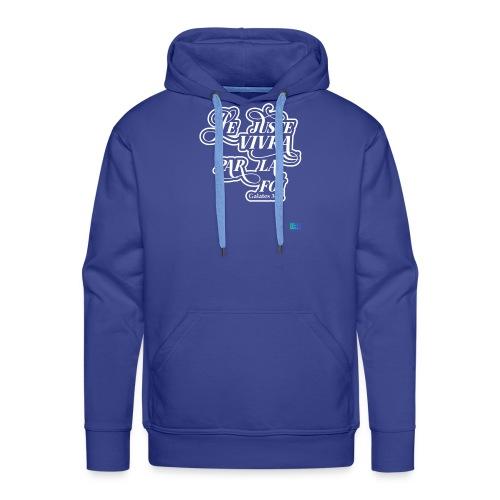 Le juste vivra par la foi - Sweat-shirt à capuche Premium pour hommes