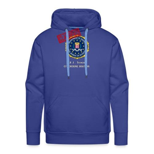F B I - Sweat-shirt à capuche Premium pour hommes