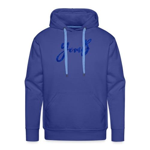 YomB Blue - Sweat-shirt à capuche Premium pour hommes
