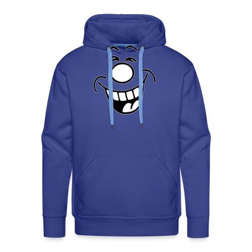 rigolo two - Sweat-shirt à capuche Premium pour hommes