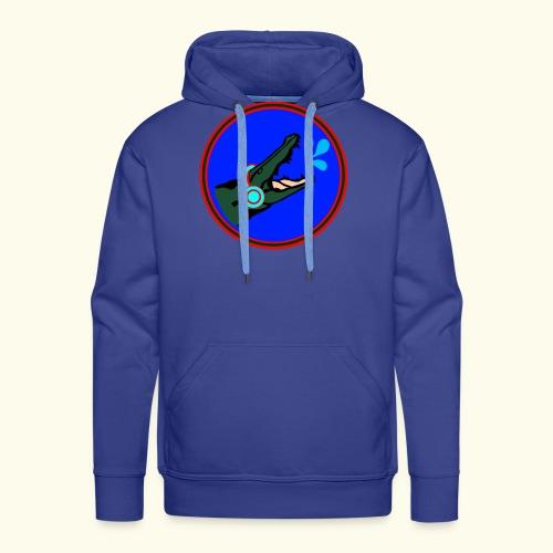 O.DD crocodile earphones - Sweat-shirt à capuche Premium pour hommes