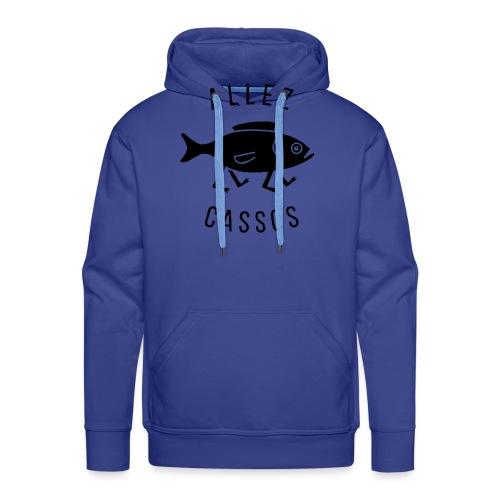 Cassos - Sweat-shirt à capuche Premium pour hommes