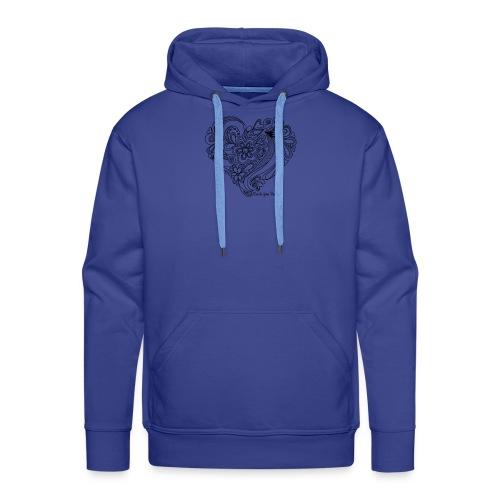 Coeur CYP 2 - Sweat-shirt à capuche Premium pour hommes
