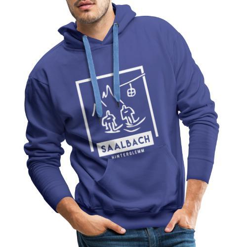 Skido's Saalbach - Mannen Premium hoodie