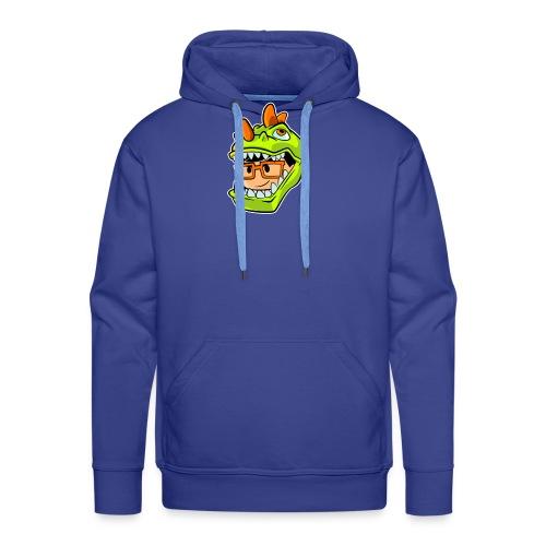 BigManuREX - Sudadera con capucha premium para hombre