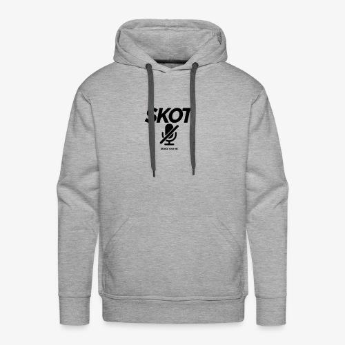 SKOT - Silence Your Mic - Mannen Premium hoodie