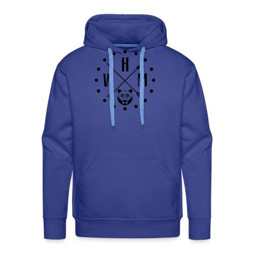 Waltherman logo flèches - Sweat-shirt à capuche Premium pour hommes