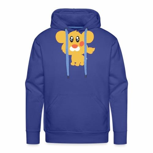 Lion pets - Sudadera con capucha premium para hombre
