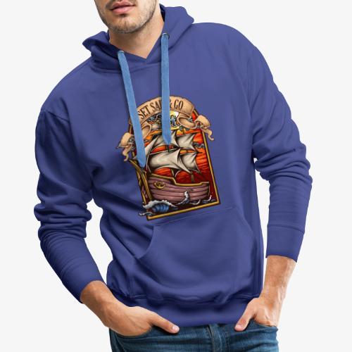 L'explorateur - Sweat-shirt à capuche Premium pour hommes