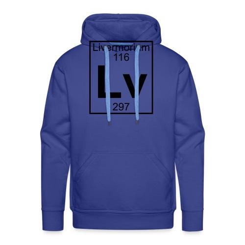 Livermorium (Lv) (element 116) - Men's Premium Hoodie