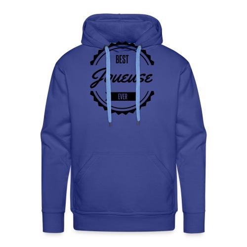 best joueuse player sport jeux - Sweat-shirt à capuche Premium pour hommes