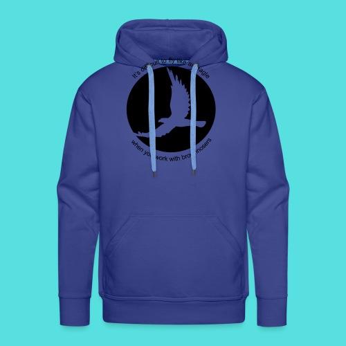 (difficult_new) - Männer Premium Hoodie