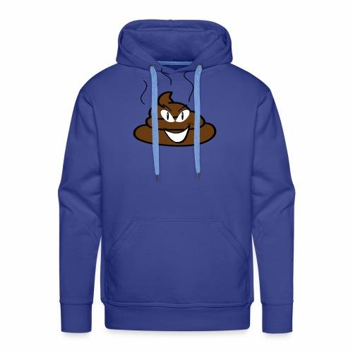 Lachende poep - Mannen Premium hoodie