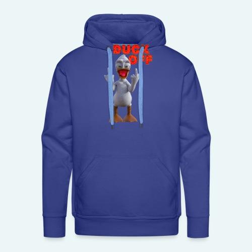 duck off - Mannen Premium hoodie