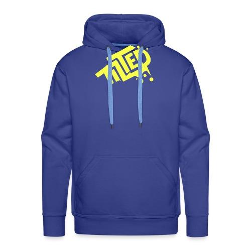 Fortnite Tilted (Yellow Logo) - Felpa con cappuccio premium da uomo
