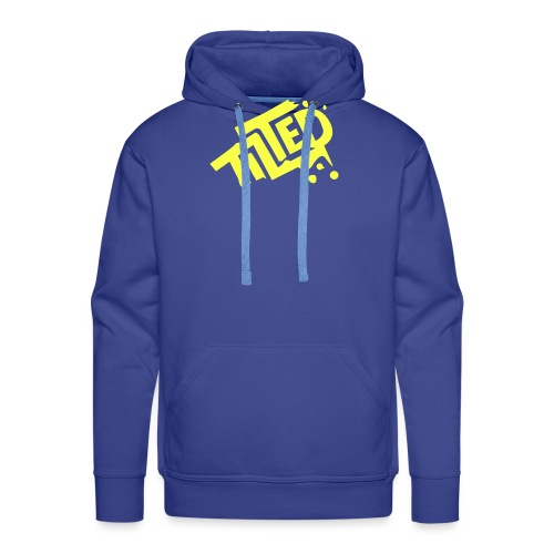 Fortnite Tilted (Yellow Logo) - Men's Premium Hoodie