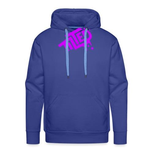Fortnite Tilted (Pink Logo) - Felpa con cappuccio premium da uomo