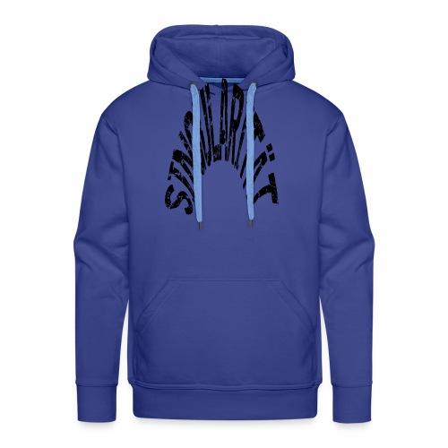 Singularität, das T-shirt für alle Wissenchaftler - Männer Premium Hoodie