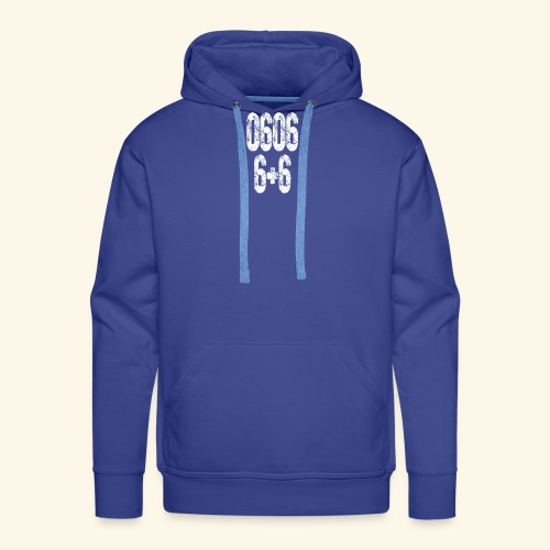 0606 Nogomet - Männer Premium Hoodie