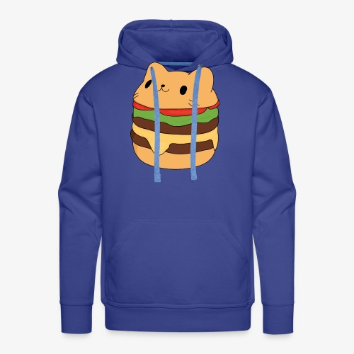 cat burger - Men's Premium Hoodie