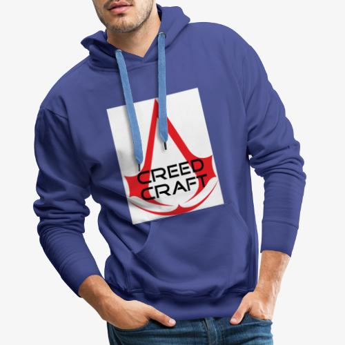 New CreedCraft logo - Men's Premium Hoodie