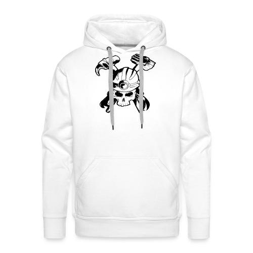 Skull and Crossbones - Men's Premium Hoodie