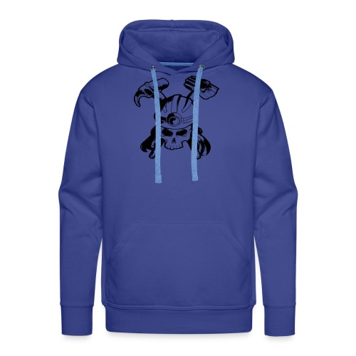 Skull and Crossbones - Men's Premium Hoodie