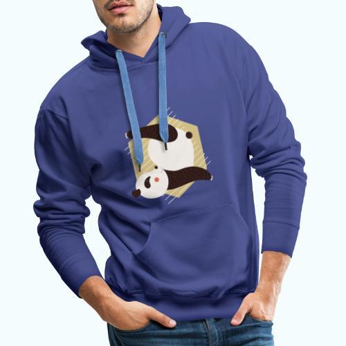 Yoga Panda - Men's Premium Hoodie