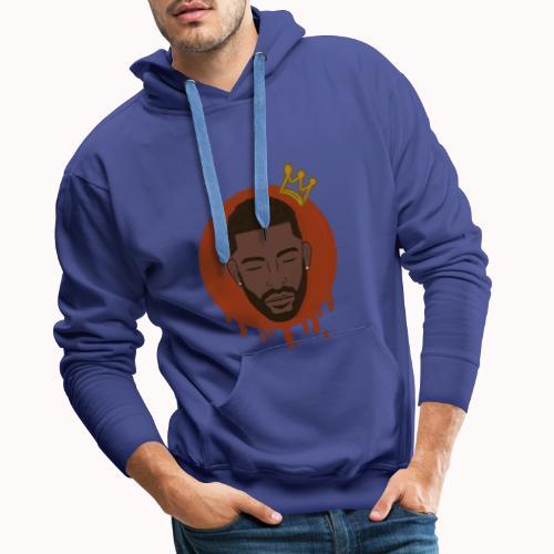 Black King - Mannen Premium hoodie