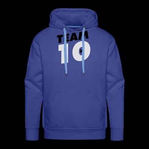 Team10 logo - Men's Premium Hoodie