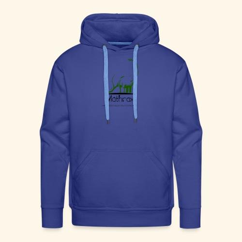 logo mathrax - Sweat-shirt à capuche Premium pour hommes