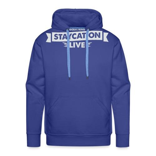 Staycation Live logo - Men's Premium Hoodie