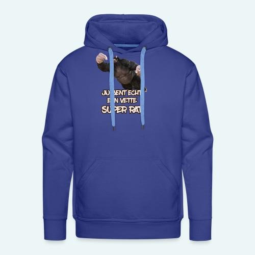 Super rat - Mannen Premium hoodie