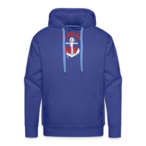 Naval NY - Sweat-shirt à capuche Premium pour hommes