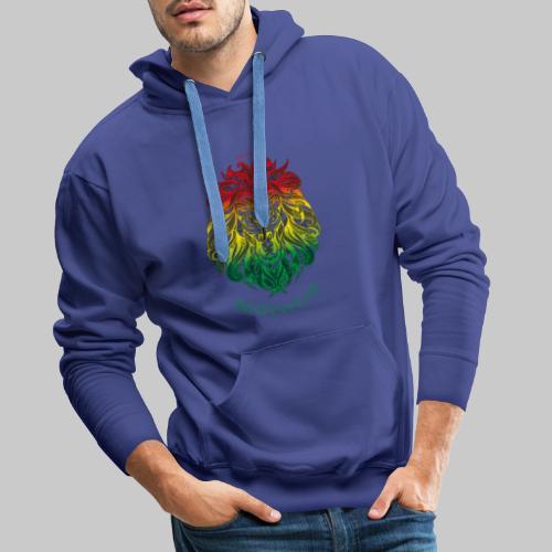 #Bestewear - Rastafari Lion - Männer Premium Hoodie