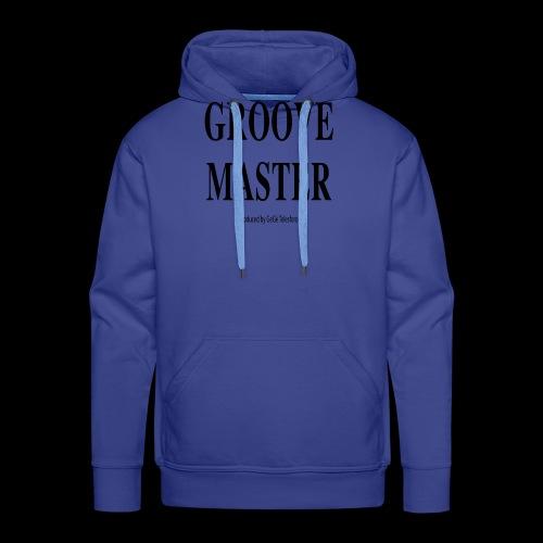 Groove Master2 - Felpa con cappuccio premium da uomo