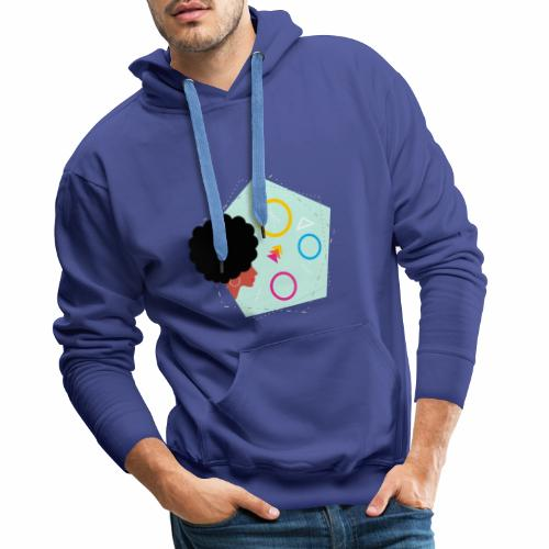 Verano mujer - Sudadera con capucha premium para hombre