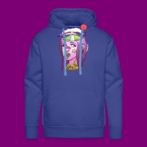Pink Girl - Mannen Premium hoodie
