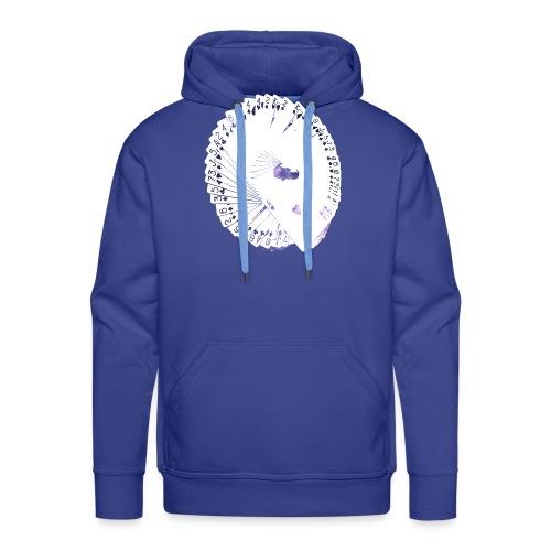 Wearable Cardistry - Universe - Sweat-shirt à capuche Premium pour hommes