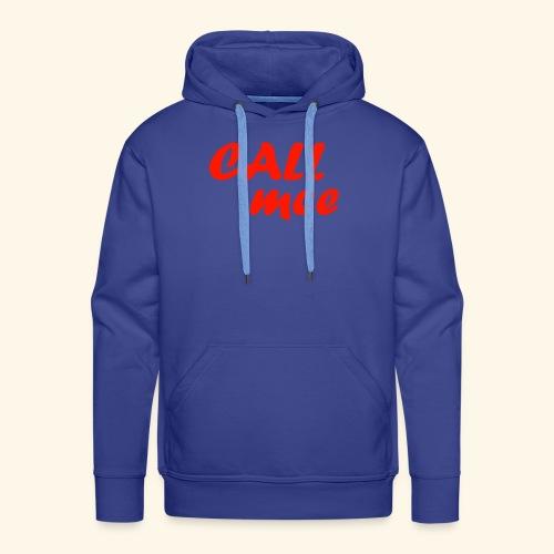Call mee - Sweat-shirt à capuche Premium pour hommes