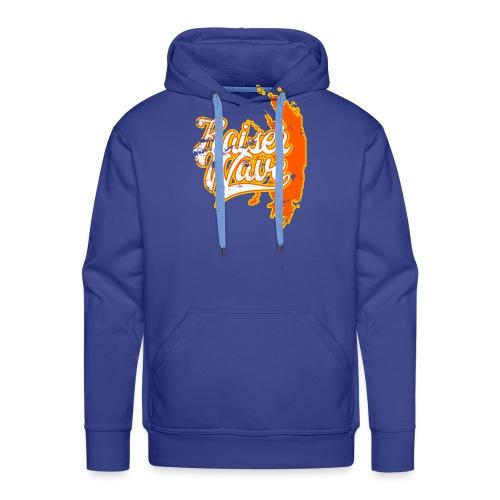 Kaiser Wave - Sweat-shirt à capuche Premium pour hommes